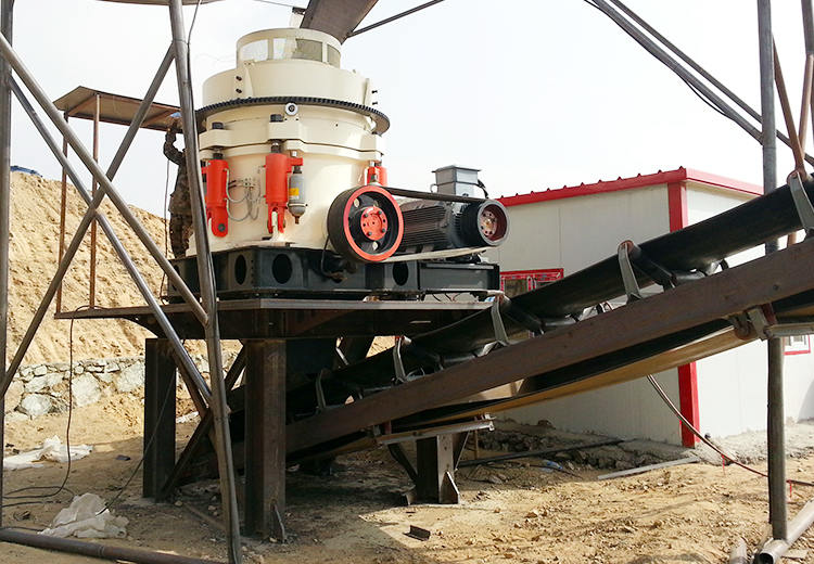 100t/h Granite Stone Crushing Plant in Tanzania