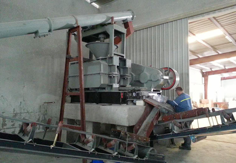 10t/h Aluminum Powder Briquetting Plant in Kenya