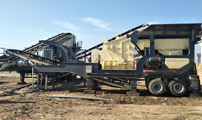 Construction Waste Mobile Crushing Plant in South Africa