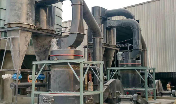 Talc Powder Grinding Plant in South Korea