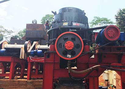 130-160t/h Stone Crusher in Philippines