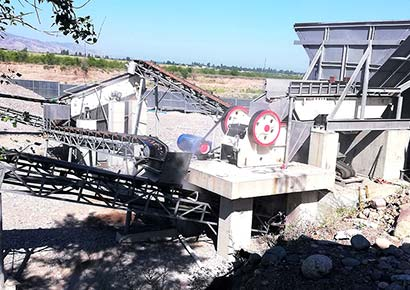 60-70t/h Stone Crusher in Namibia
