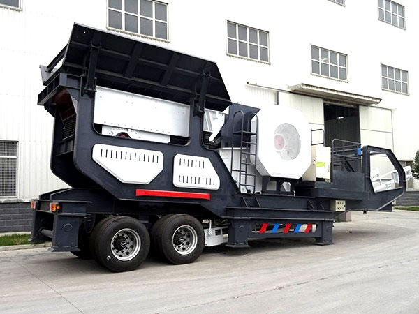 Fote Mobile Crusher Has the Strong Demeanor